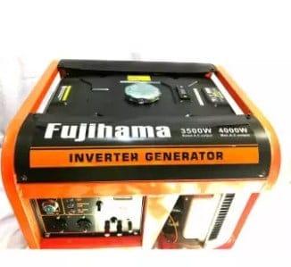 gasoline-powered generator.