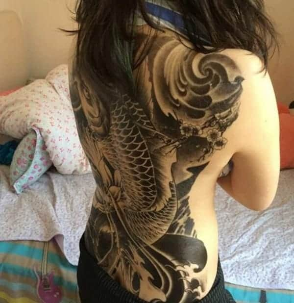 koi fish meaning black koi fish tattoo
