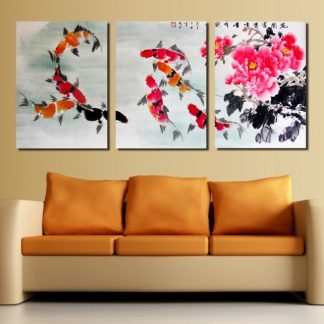 8 koi fish painting for sale