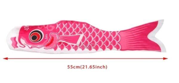 koi nobori flag pink
