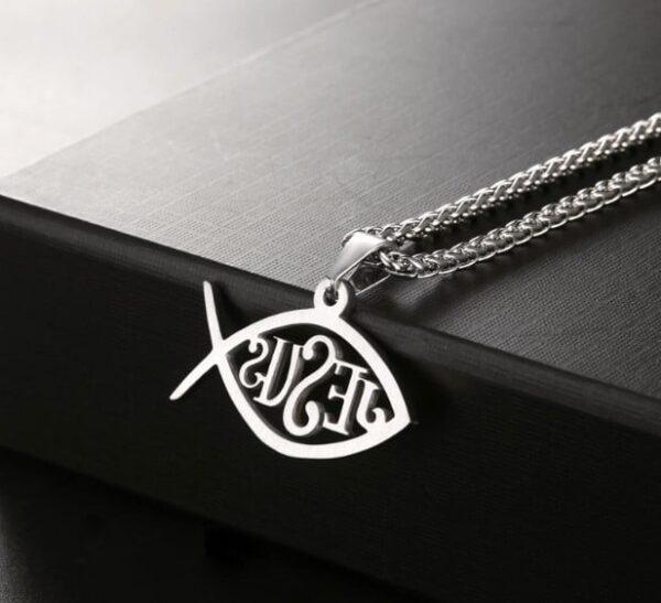 jesus fish necklaces 1