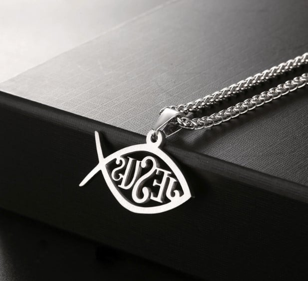 jesus fish necklaces 1