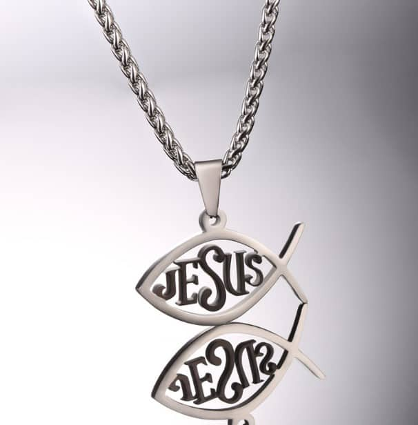 jesus fish necklaces
