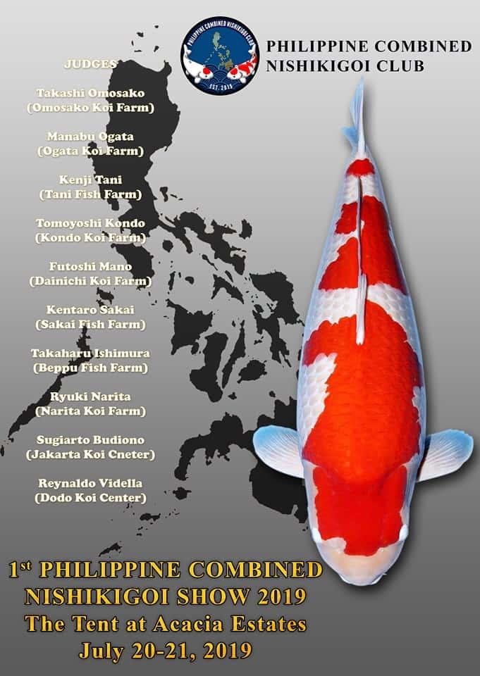 1st Philippine Combined Nishikigoi Koi Show 2019