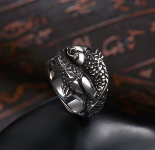 mens fish ring