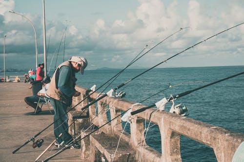 angler fishing rod